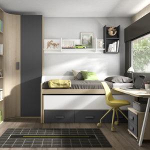 Habitacion Juvenil estilo Nordico Trimobel Getafe