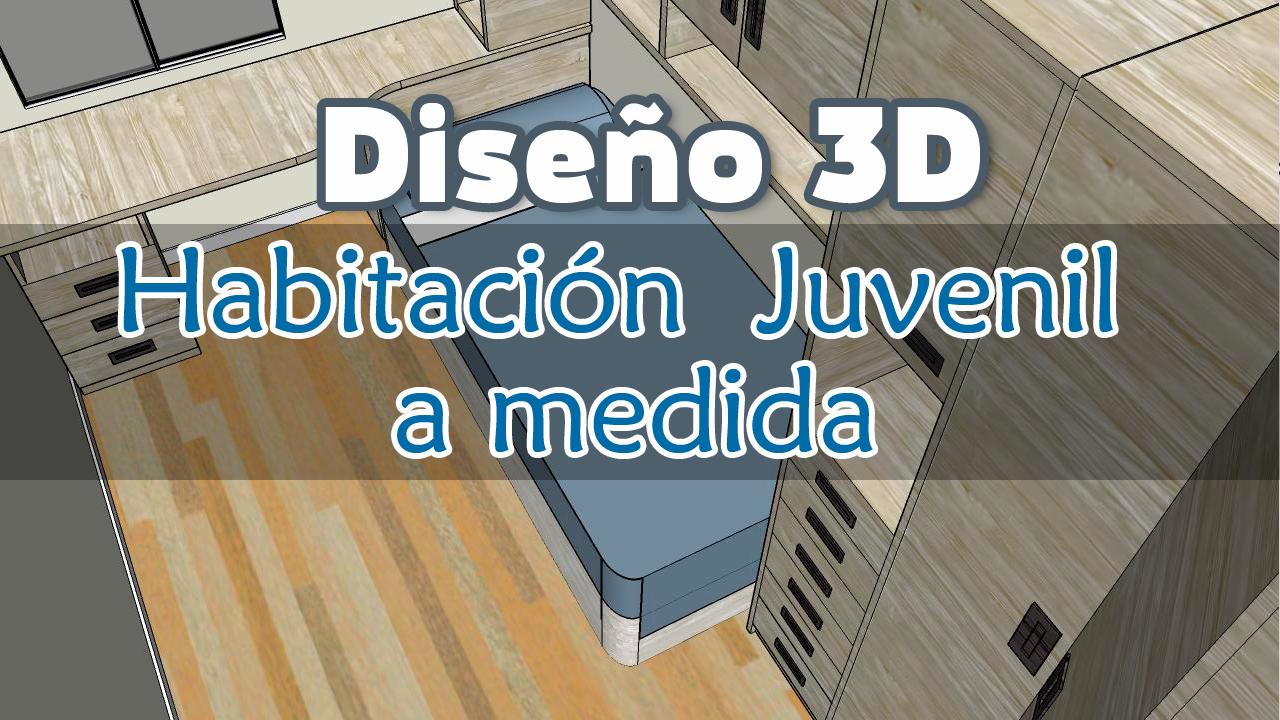 Diseño-3d-habitacion-Juvenil-a-medida-Trimobel-Getafe