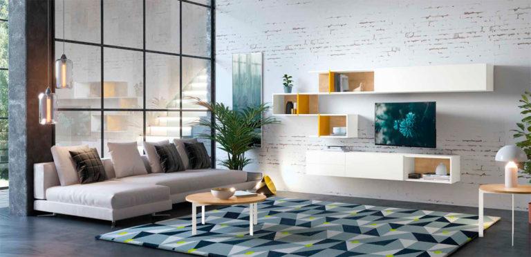 Muebles de salon modernos industrial Antaix Amb2-1-Trimobel