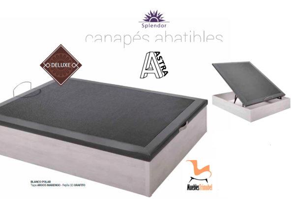 Canape Abatible tapizado Astra Deluxe Trimobel