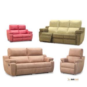 Chaisse Longue TeoJara 3+2 plazas y Relax Muebles Trimobel Getafe