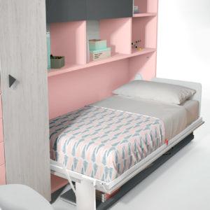 Habitacion Juvenil cama abatible Formas 401-2 Trimobel