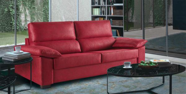 Sofa Cama Leyre con Chaise Longe Muebles Trimobel Getafe