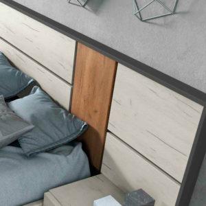 Dormitorio Matrimonio Moderno Night Style Vega Trimobel Getafe