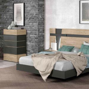 Dormitorio Matrimonio Moderno Night Style Trimobel Getafe ambiente 23