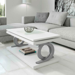 Mesa de Centro Elevable modelo Nora 2057 Muebles Trimobel Getafe