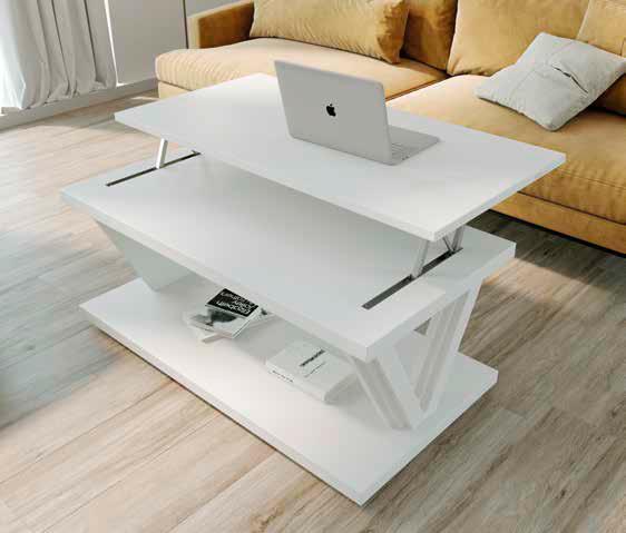 Mesa de Centro Elevable modelo Nora 2059 Muebles Trimobel Getafe