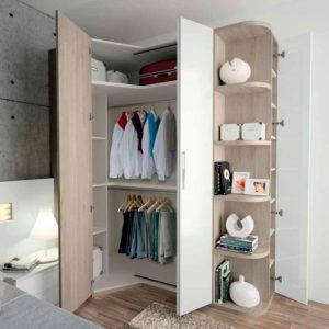 Armario de Dormitorio moderno matrimonio EOS 130 Isola Muebles Trimobel Getafe