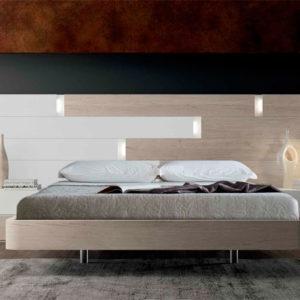 Dormitorio moderno matrimonio EOS 138 Burano Muebles Trimobel Getafe