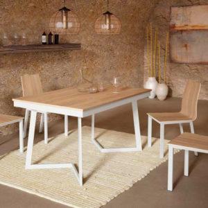 Mesa estilo industrial 2722 Muebles Trimobel Getafe