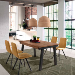 Mesa estilo industrial 2922 Muebles Trimobel Getafe