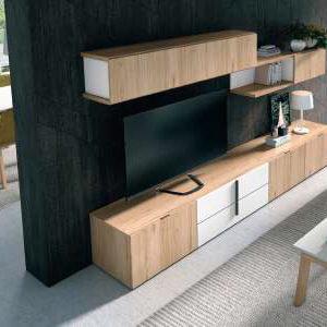 Mueble Salón Moderno modelo 816 Muebles Trimobel Getafe