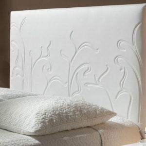 DEtalle Cabecero tapizado Original modelo Brotes Muebles Trimobel Getafe