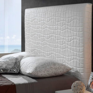 Cabecero tapizado Original modelo Dalia Muebles Trimobel Getafe