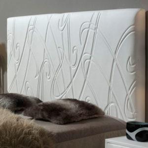 Cabecero tapizado Original modelo Liana Muebles Trimobel Getafe