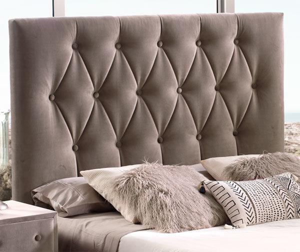 Cabecero tapizado Original modelo Verona Muebles Trimobel Getafe