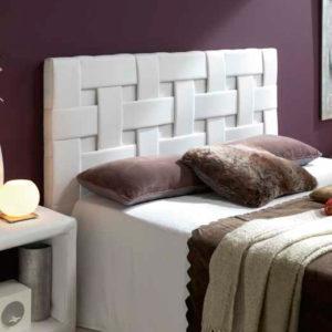Cabecero tapizado Trenzado Tapizados Carreras Muebles Trimobel Getafe