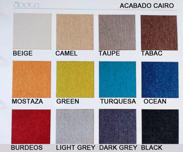 cabeceros tapizados abota acabado Cairo muebles Trimobel