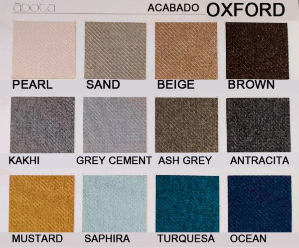cabeceros tapizados abota acabado Oxford muebles Trimobel