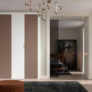 Armario puertas plegables angular modelo S71 Muebles Trimobel Getafe