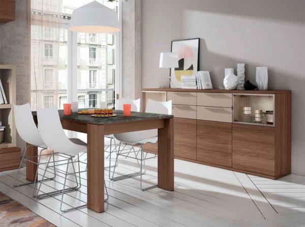 Aparador salón estilo moderno Cubica 07 Muebles Trimobel Getafe