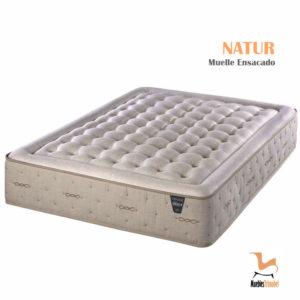 Colchón Muelle ensacado modelo Natur con Sensus Soja para regular el ciclo del sueño Muebles TRimobel Getafe