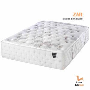 Colchón Muelle ensacado modelo Zar con Sensus Soja para regular el ciclo del sueño Muebles TRimobel Getafe