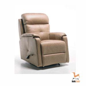 Sillón relax manual modelo Brunella. Opcional motor eléctrico y giratorio. Muebles Trimobel Getafe 1