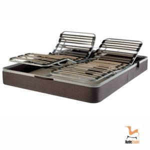 Canapé somier articulado con motor eléctrico Muebles Trimobel Getafe