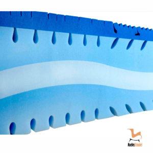 Colchón Viscolástica 8cm 29 cm VITA detalle nucleo del colchón Muebles Trimobel Getafe