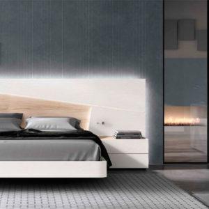 Dormitorio matrimonio moderno COSMO EOS Composición 18 Muebles Trimobel Getafe 1