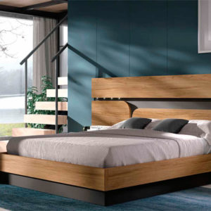 Dormitorio matrimonio moderno COSMO EOS Composición 21 Muebles Trimobel Getafe 1