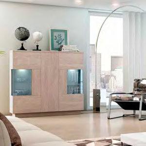 Mueble Salón moderno 16 Best Canoil detalle vitrina Muebles Trimobel Getafe