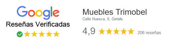 reseñas verificadas de google Muebles Trimobel Getafe