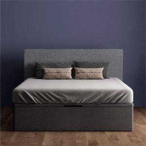 Canape de madera y tapa 3D Dana Luxe Korflex Muebles Trimobel