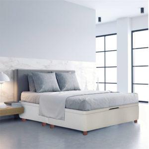 Canape de madera y tapa 3D Helsinki Korflex Muebles Trimobel