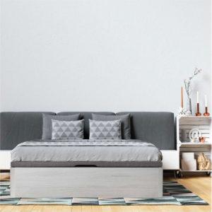 Canape de madera y tapa 3D Square Luxe Korflex Muebles Trimobel
